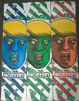 "FREEDOM TRUMP Longboard Skateboard Grip Tape 40""x10"""