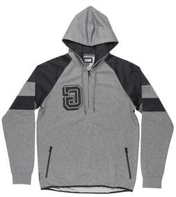 Grizzly Griptape Full Court Half Zip Sweater Hoodie Pullover