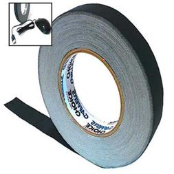Gaffer Tape 1in. x 60yd - BLACK - Adhesive Is Safer Than Duc