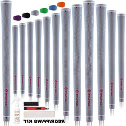 Golf Grips 13 Grips Midsize with 15 Free Tapes Pure Color Ru