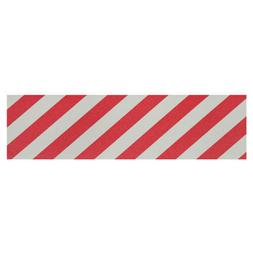 PIMP GRIP Skateboard Griptape Sheet RED / WHITE CANDY STRIPE