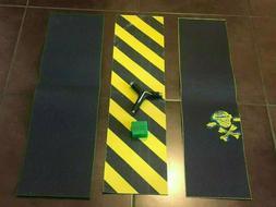 grip tape lot Jesup element lot black yellow skateboard for