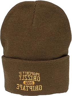 Grizzly Grip Tape Porperty of Grizzly Military Green Beanie