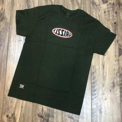"Grizzly ""Grip Tape"" Skateboarding Men's T-shirt Green"