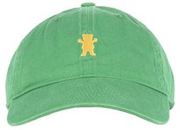 Grizzly Griptape OG Dad Bear Logo Mens Hat in Green