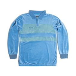 Grizzly Griptape - Tahoe L/S Polo - Sky Blue Skateboard