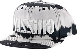 Grizzly Griptape GRIZZLY TIE DYE STAMP HAT SNAPBACK-BLACK TI