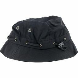Grizzly Bear Trap Bucket Skate HAT - Black