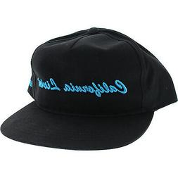 Grizzly California Livin Hat Adjustableustable Black/Cyan
