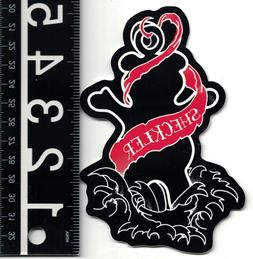 GRIZZLY GRIP TAPE SHECKLER INKED SKATE STICKER 5.25 in. x 3.