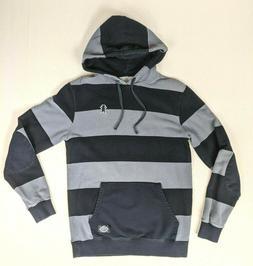 grizzly griptape hoodie striped gray skateboard supply