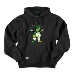 Grizzly x Marvel Hulk Pullover Hoodie, Black Youth Large YL