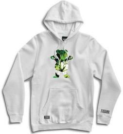 Grizzly x Marvel Hulk Pullover Hoodie, White - Size Large Gr