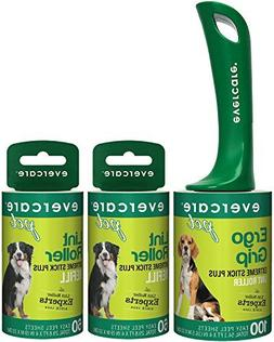 Evercare Pet Hair Extra Sticky Lint Roller with 2 Refills, N