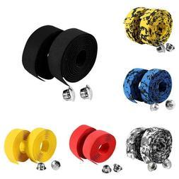 Handlebar tape rubber grips cycling road bike handlebar plug