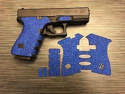 HANDLEITGRIPS Blue Sandpaper Grip Tape Wrap Gun Part for Glo