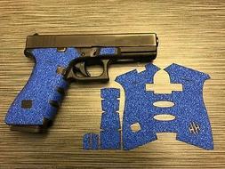 HANDLEITGRIPS Blue Sandpaper Gun Grip Tape Wrap for Glock 17