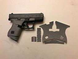 HANDLEITGRIPS Gray Textured Rubber Gun Grip Tape Wrap for Gl