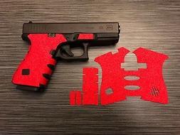 HANDLEITGRIPS Red Sandpaper Grip Tape Wrap Gun Part for Gloc