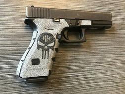 HANDLEITGRIPS Textured Rubber Gun Grip Tape Wrap SKULL KIT f
