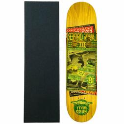 Anti Hero Skateboard Deck Kanfoush Friday Night Fracas 8.28""