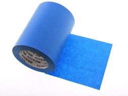 """1x 6"""" inch WIDE 3D Printing Print Bed Easy Removal Blue Pain"""