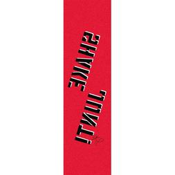 "Shake Junt Jackson Single Sheet Griptape 9""x33"" - Red/Black/"