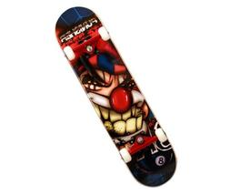 Punisher Jester Complete Skateboard, Blue, 31-Inch