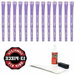 Karma Purple Sparkle - 13 Pc Golf Grip Kit  &amp