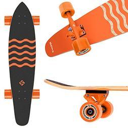 Street Surfing Kicktail Blown Out Longboard Skateboard Cruis
