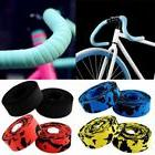 1 Pair Road Bike Handlebar Bar Grip Wrap Ribbon Tape + 2 Bar