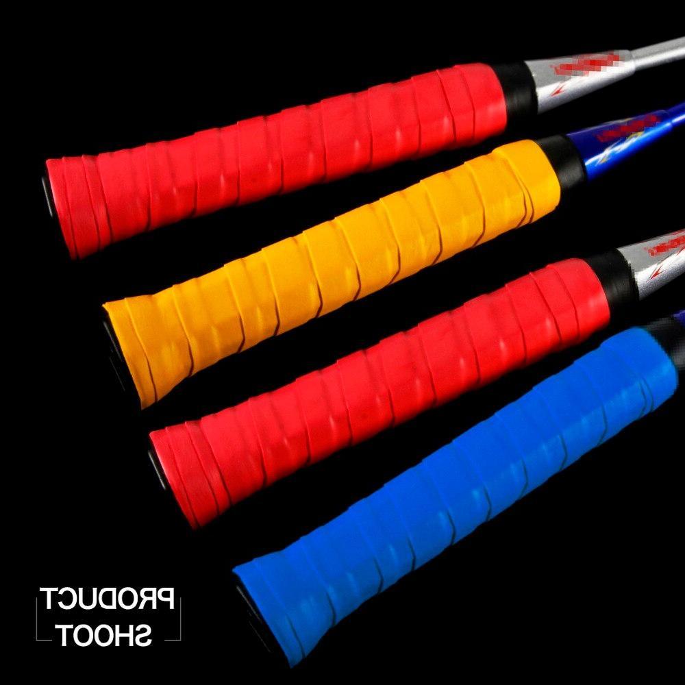 10 pcs White Anti-slip <font><b>Tennis</b></font> Overgrips Badminton <font><b>Grips</b></font> <font><b>Tapes</b></font> Sweatbands Wraps