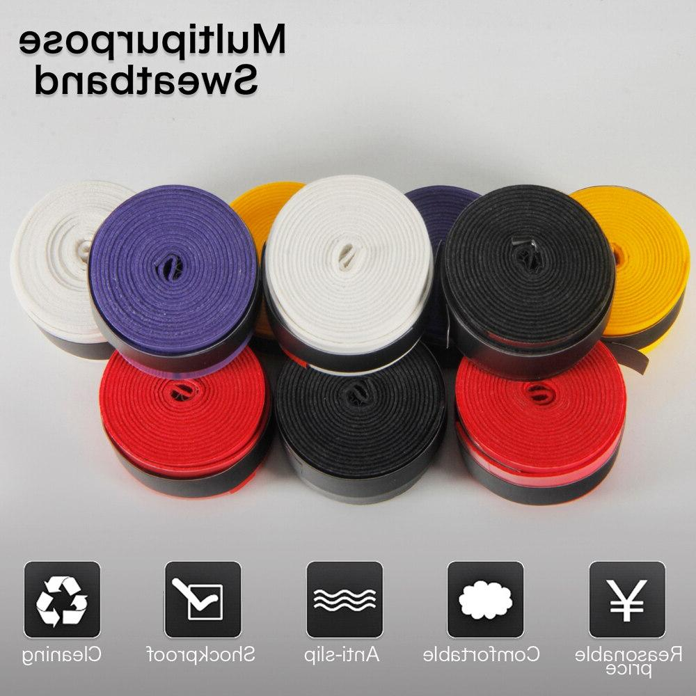 10 pcs Anti-slip <font><b>Tennis</b></font> <font><b>Grips</b></font> <font><b>Tapes</b></font> Fishing Rod Wraps