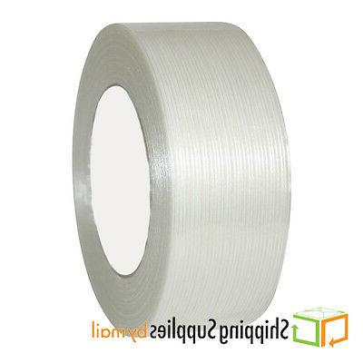"""12 2"""" x 60 Yds Economy Filament Tape 3.9 Tapes"""