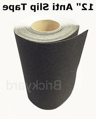12 x 6 black roll safety non