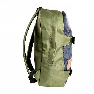 ASR Outdoor Backpack Dual Zip Tone OD Travel Bag