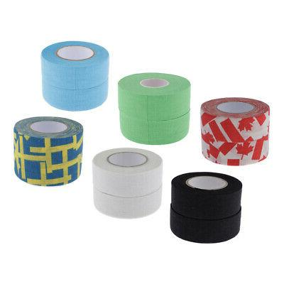 2rolls cotton tape hockey stick grip tape