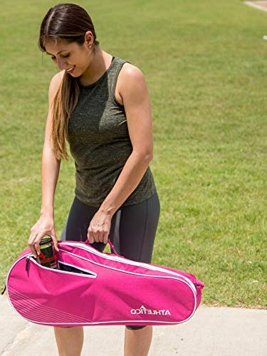 Athletico Bag Padded to Protect & Lightweight | or Beginner Tennis Design Women, Youth