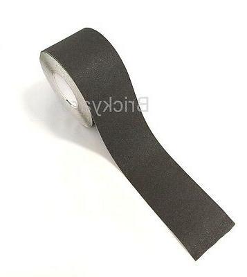 "4"" 60' Roll Safety Tape Sticker Grip Grit"