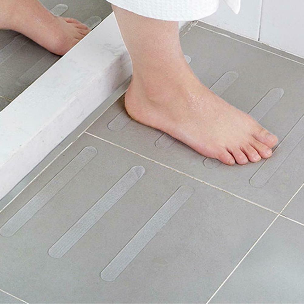 5pcs Bath Stickers Safety Strips Mat