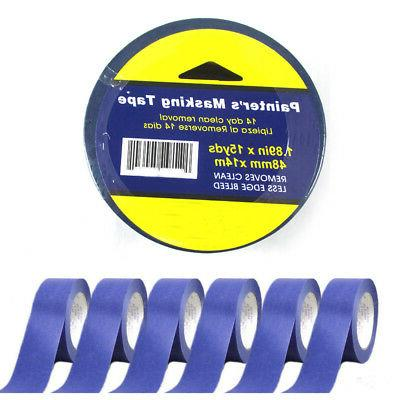 6 Rolls Painters Masking Paint Tape Blue 1.89x15Yd Multi Sur