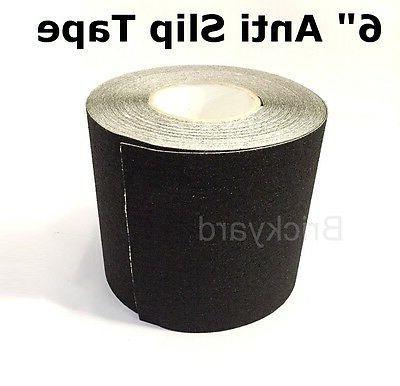 6 x 10 black roll safety non