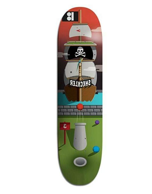 Plan Pirate Ship Skateboard With Tape