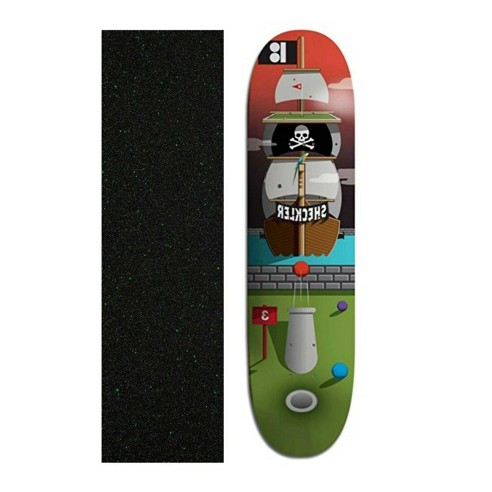 8 25 sheckler pirate ship skateboard deck