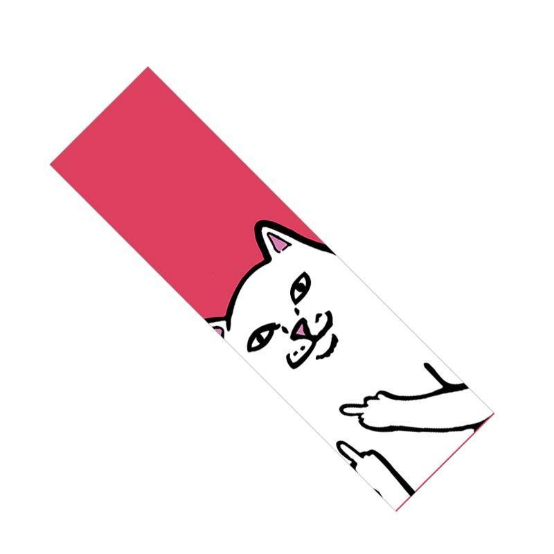 84*23cm Skate <font><b>Grip</b></font> Longboard Sandpaper Non-slip Hard-Wearing Cats Scooter Deck
