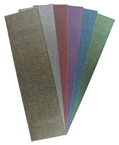 9 x 33 inch sheet of glitter