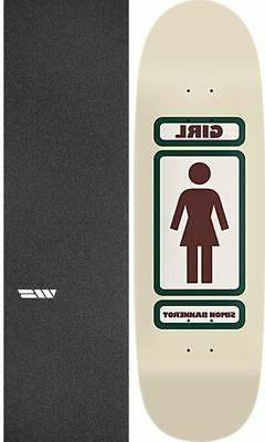 """Girl Skateboards 93 Til 9"""" Skateboard Deck + griptape"""