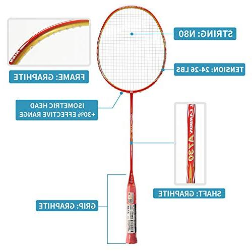 WHIZZ A730 High Graphite Professional Badminton for Players