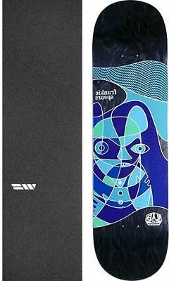 "Alien Workshop  Aberration 8.25"" Skateboard Deck + griptape"