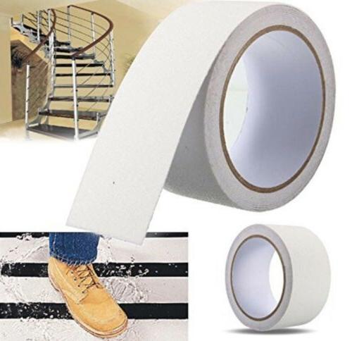 AntiSlipAbrasive Friction Safety Stair Tape 2''x180''White